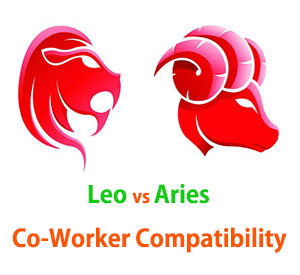 Leo and Aries Co-Worker Compatibility