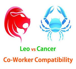 Leo and Cancer Co-Worker Compatibility