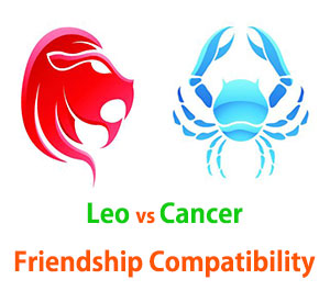 Leo and Cancer Friendship Compatibility