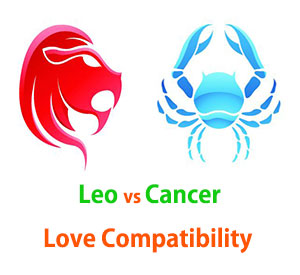 Leo and Cancer Love Compatibility
