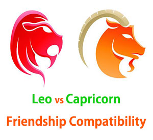 Leo and Capricorn Friendship Compatibility