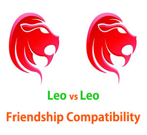 Leo and Leo Friendship Compatibility