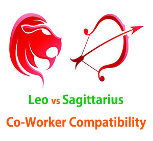 Leo and Sagittarius Co-Worker Compatibility