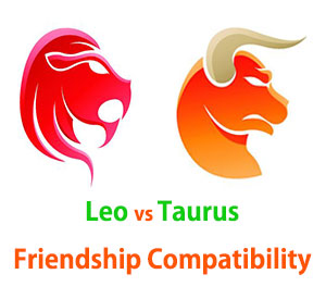 Leo and Taurus Friendship Compatibility