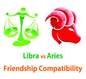 Libra and Aries Friendship Compatibility