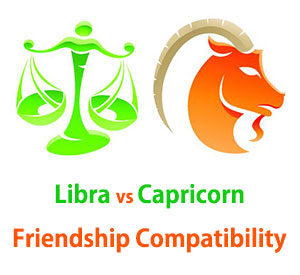 Libra and Capricorn Friendship Compatibility
