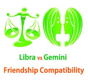 Libra and Gemini Friendship Compatibility