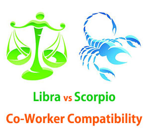 Libra and Scorpio Co-Worker Compatibility