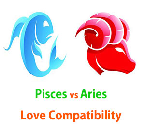 Pisces and Aries Love Compatibility