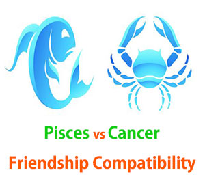 Pisces and Cancer Friendship Compatibility