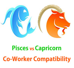 Pisces and Capricorn Co-Worker Compatibility