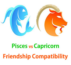 Pisces and Capricorn Friendship Compatibility