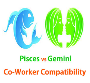 Pisces and Gemini Co-Worker Compatibility