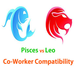 Pisces and Leo Co-Worker Compatibility