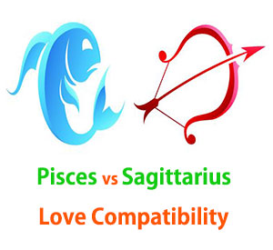 Pisces and Sagittarius Love Compatibility