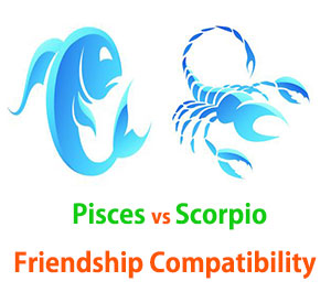 Pisces and Scorpio Friendship Compatibility