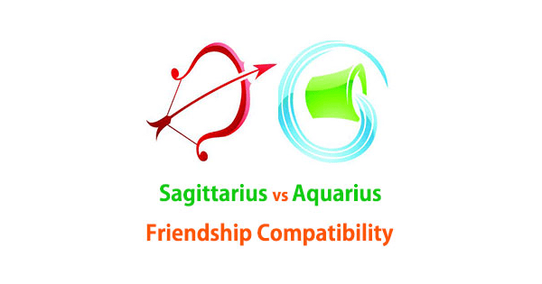 aquarius sagittarius friendship