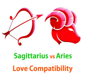 Sagittarius and Aries Love Compatibility