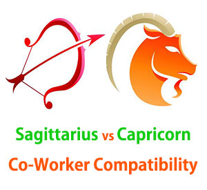 Sagittarius and Capricorn Co-Worker Compatibility