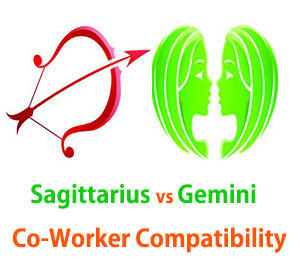 Sagittarius and Gemini Co-Worker Compatibility