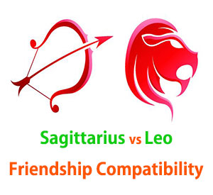 Sagittarius and Leo Friendship Compatibility