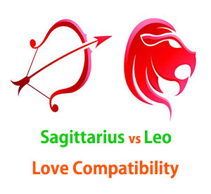 Sagittarius and Leo Love Compatibility
