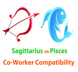 Sagittarius and Pisces Co-Worker Compatibility