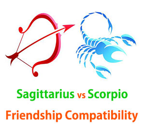 Sagittarius and Scorpio Friendship Compatibility