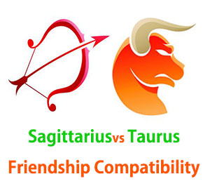 Sagittarius and Taurus Friendship Compatibility