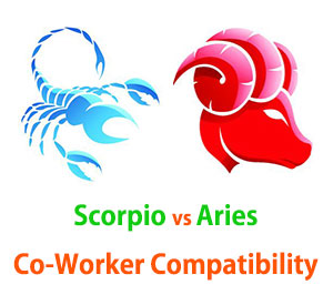 Scorpio and Aries Co-Worker Compatibility
