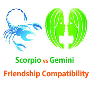 Scorpio and Gemini Friendship Compatibility