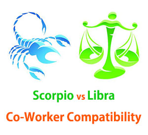 Scorpio and Libra Co-Worker Compatibility