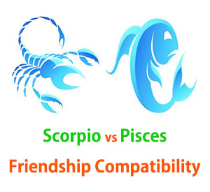 Scorpio and Pisces Friendship Compatibility
