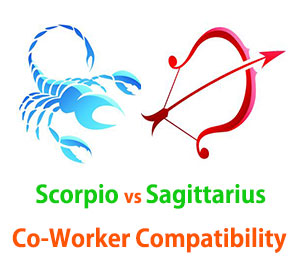 Scorpio and Sagittarius Co-Worker Compatibility