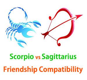 Scorpio and Sagittarius Friendship Compatibility