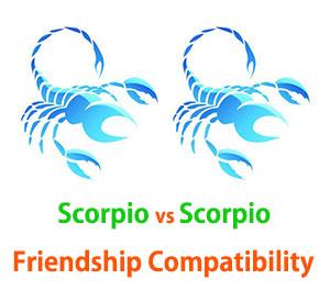 scorpio and scorpio friendship compatibility love