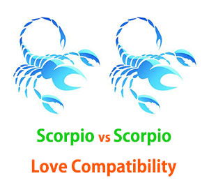 Scorpio and Scorpio Love Compatibility
