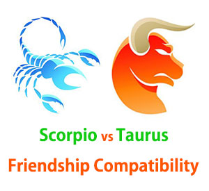 Scorpio and Taurus Friendship Compatibility