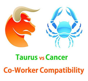 Taurus and Cancer Co-Worker Compatibility