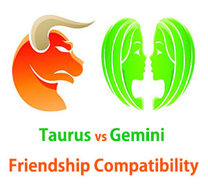 Taurus and Gemini Friendship Compatibility