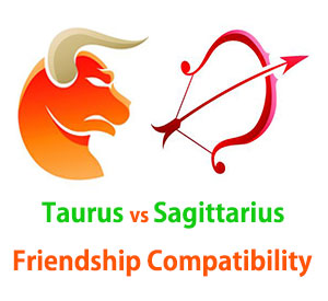 Taurus and Sagittarius Friendship Compatibility