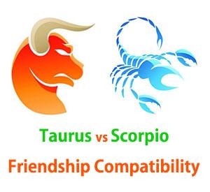 Taurus and Scorpio Friendship Compatibility