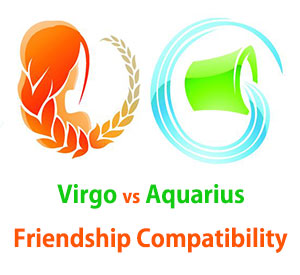 Virgo and Aquarius Friendship Compatibility