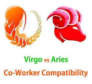 Virgo and Aries Co-Worker Compatibility