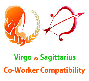 Virgo and Sagittarius Co-Worker Compatibility