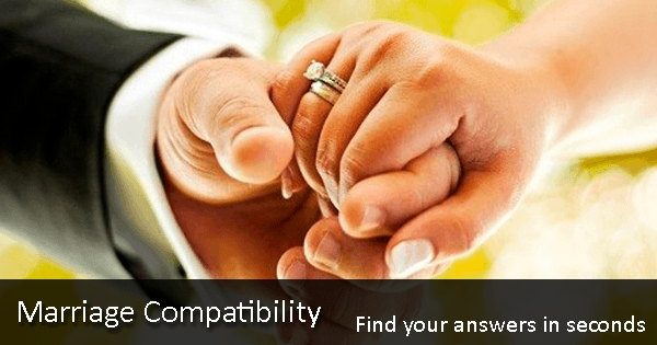 Marriage Compatibility - Free Calculator