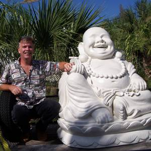 Place your Garden Buddha for Good Luck