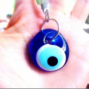Protection Nazar Evil Eye Keychain