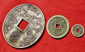 Chinese Coins Charm