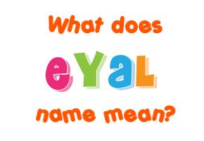 eyal name origin